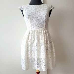 Talula Lace Skater Dress Fit and Flare